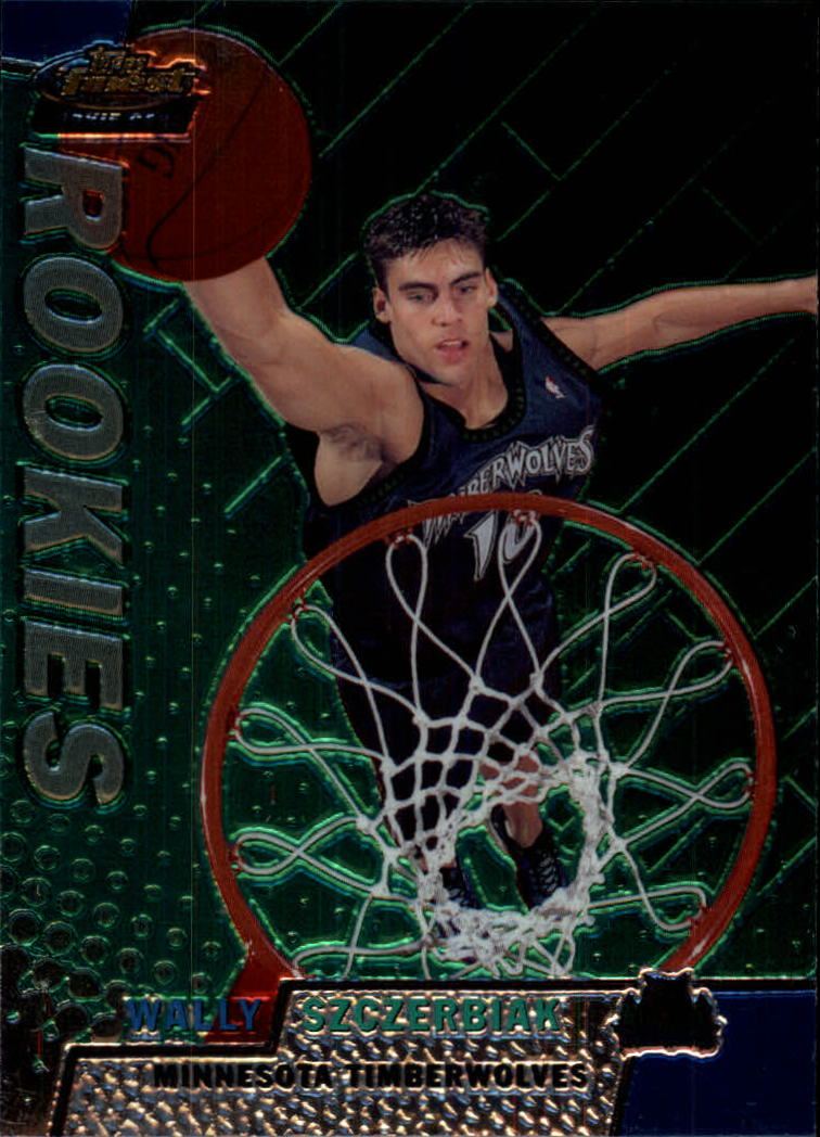 1999-00 Finest #120 Wally Szczerbiak RC