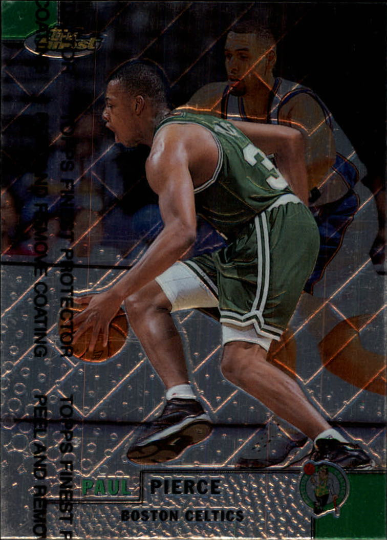 1999-00 Finest #184 Paul Pierce
