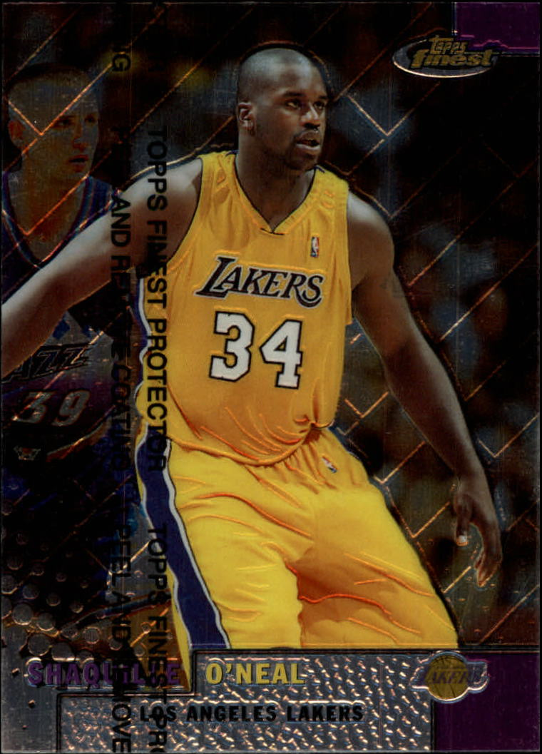 1999-00 Finest #186 Shaquille O'Neal