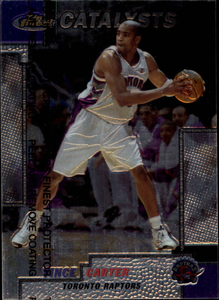 1999-00 Finest #235 Vince Carter CAT