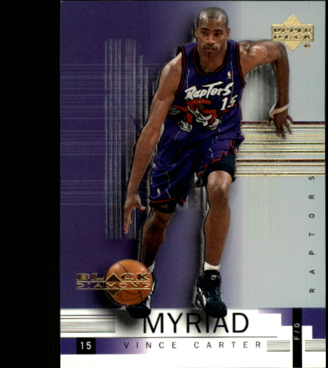 1999-00 Black Diamond Myriad #M5 Vince Carter