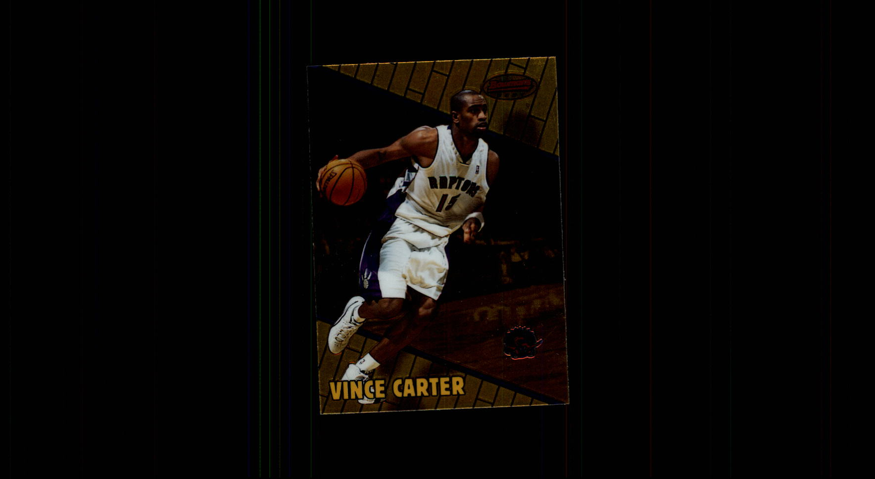 1999-00 Bowman's Best #1 Vince Carter
