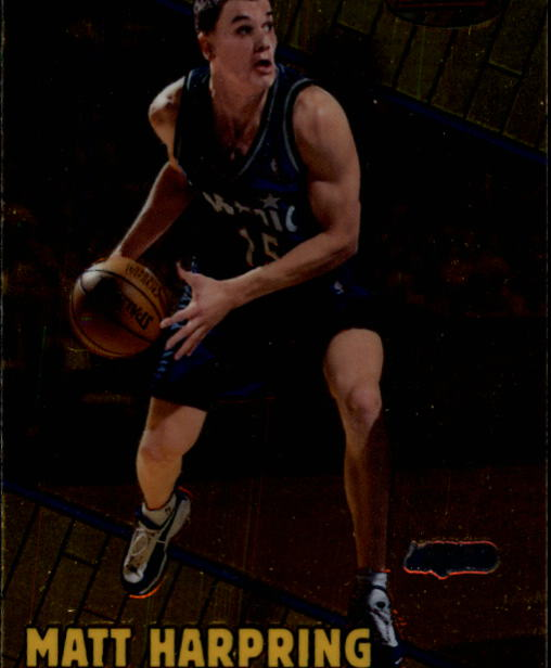 1999-00 Bowman's Best #4 Matt Harpring
