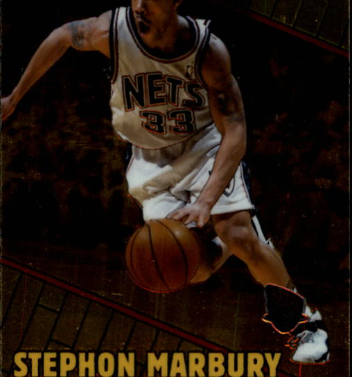 1999-00 Bowman's Best #5 Stephon Marbury