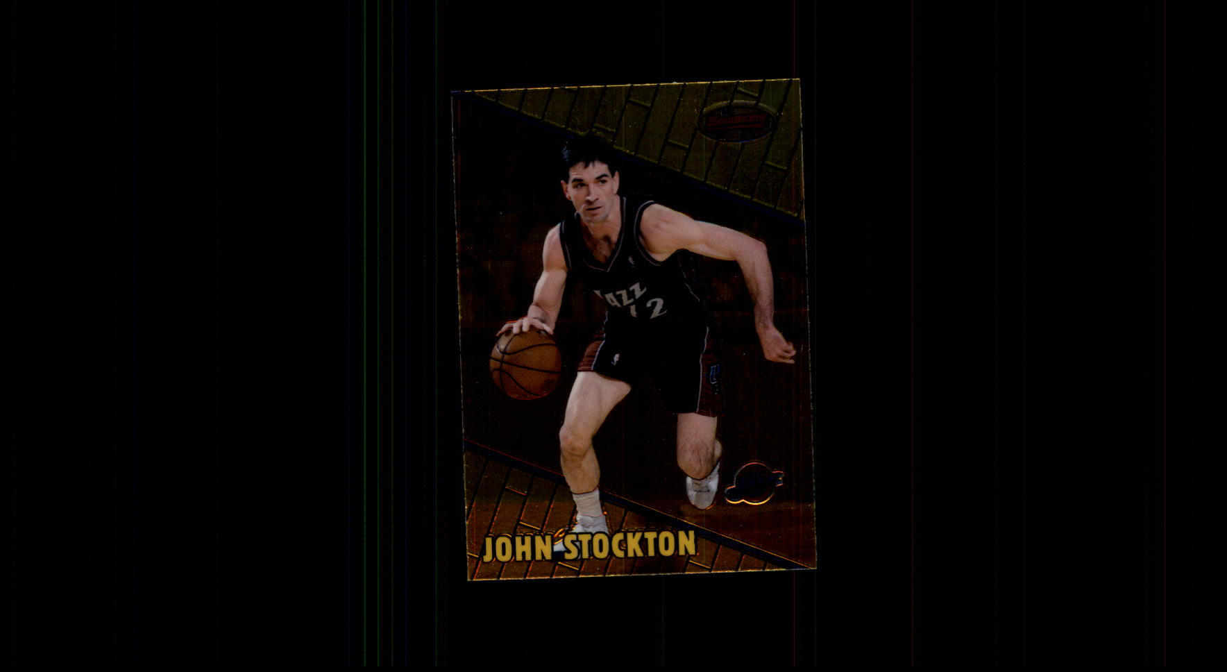 1999-00 Bowman's Best #32 John Stockton