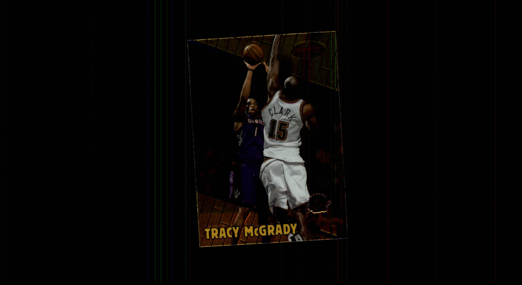 1999-00 Bowman's Best #56 Tracy McGrady