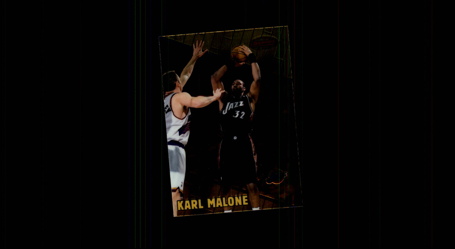 1999-00 Bowman's Best #70 Karl Malone