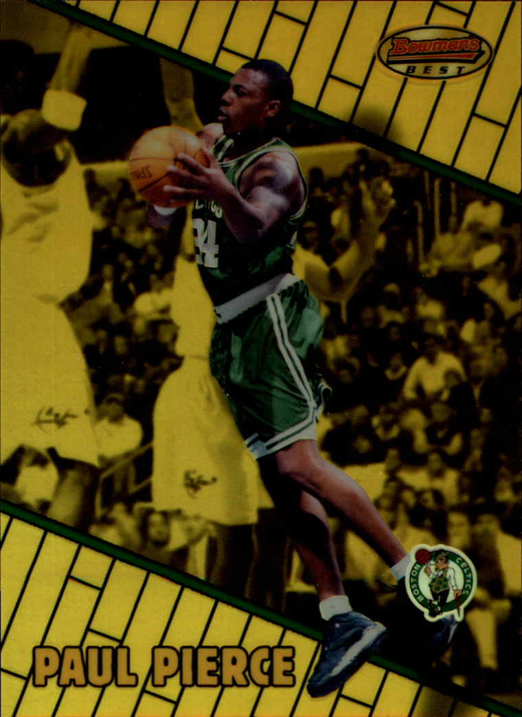 1999-00 Bowman's Best Refractors #79 Paul Pierce