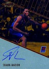 1999-00 Bowman's Best Autographs #BBA11 Shawn Marion