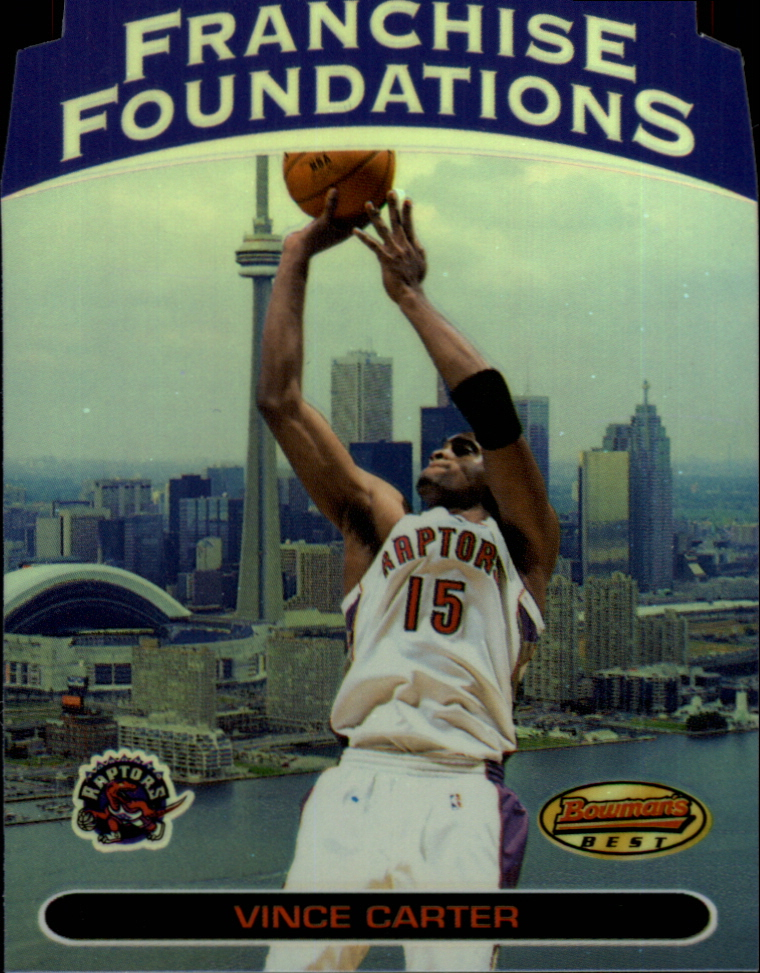 1999-00 Bowman's Best Franchise Foundations #FF8 Vince Carter