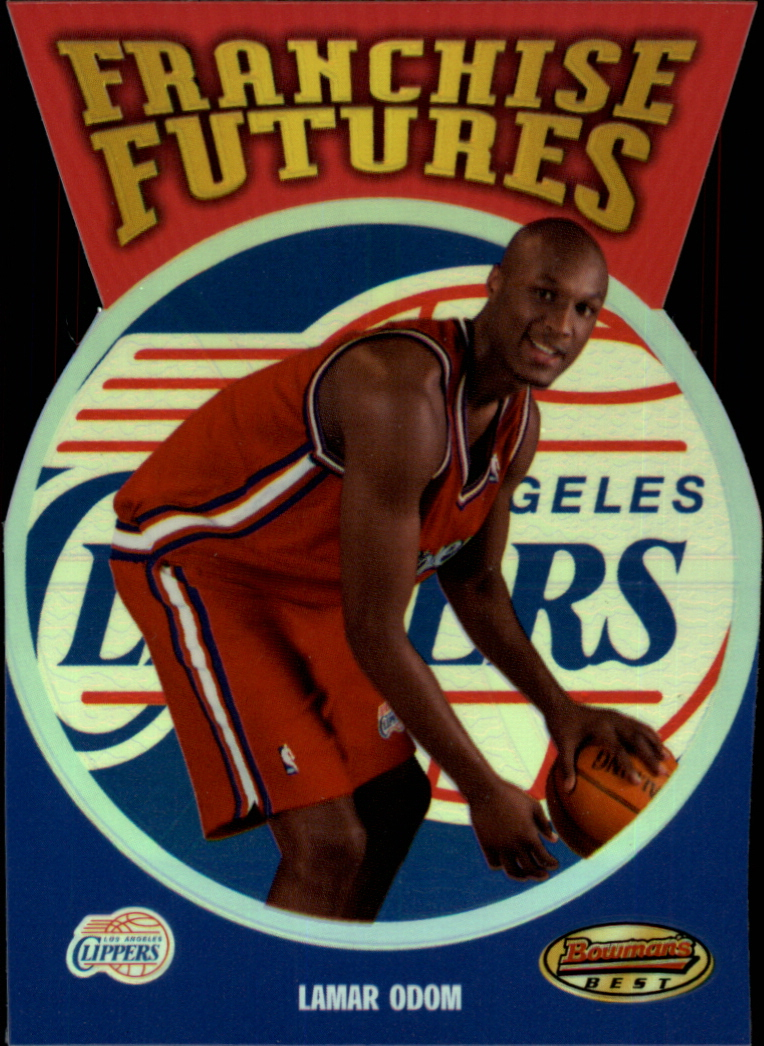 1999-00 Bowman's Best Franchise Futures #FFT4 Lamar Odom