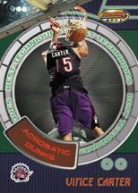 1999-00 Bowman's Best Techniques #BT4 Vince Carter
