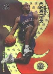 1999-00 E-X #16 Vince Carter