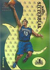 1999-00 E-X #70 Wally Szczerbiak RC