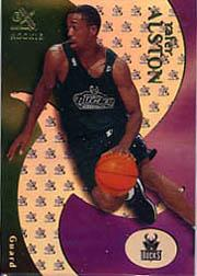 1999-00 E-X #87 Rafer Alston RC
