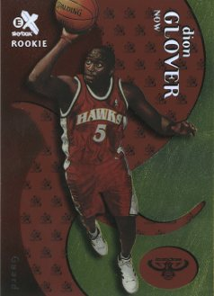 1999-00 E-X Essential Credentials Now #64 Dion Glover/4