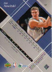 1999-00 Black Diamond #17 Dirk Nowitzki back image