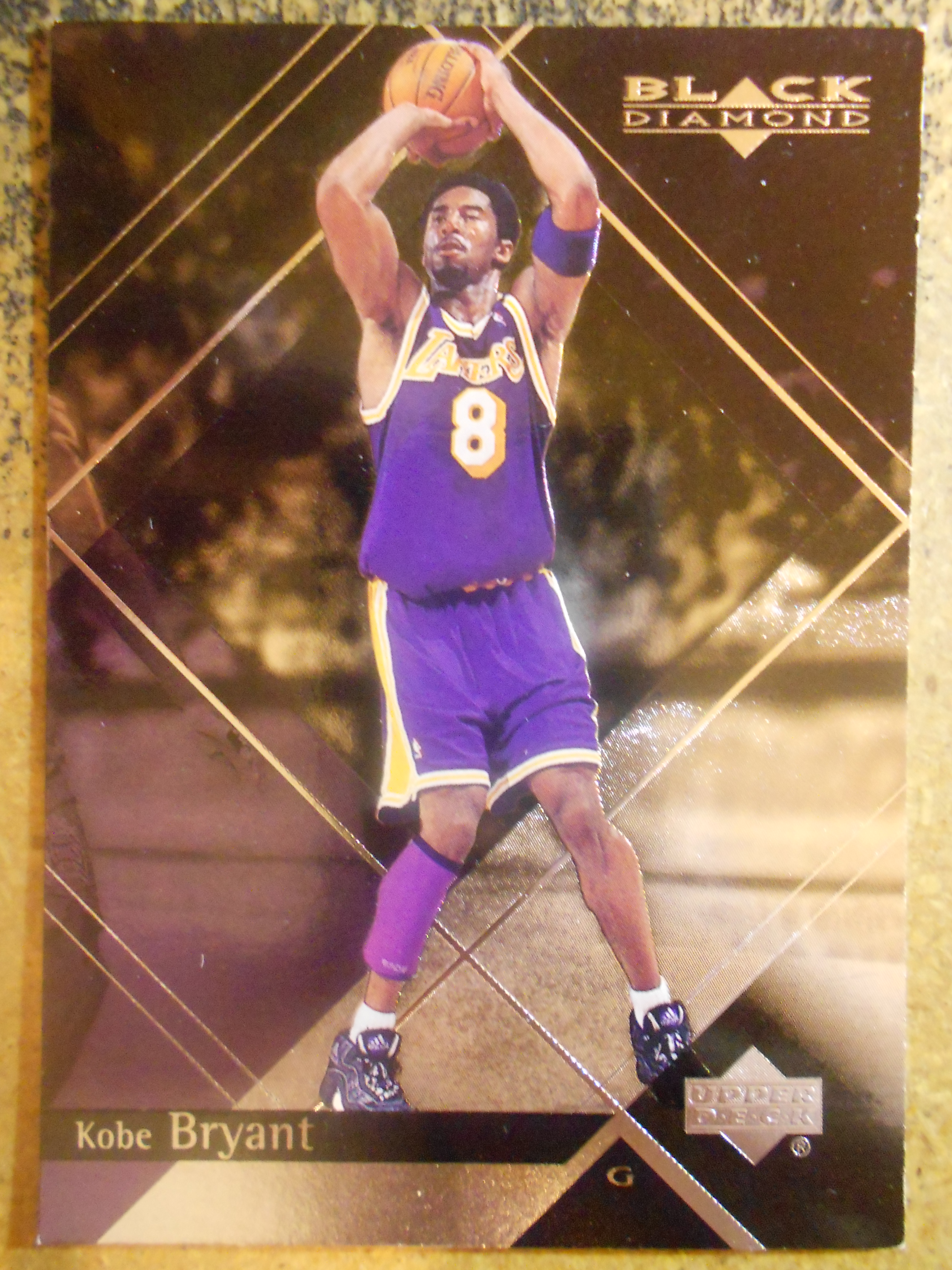 1999-00 Black Diamond #38 Kobe Bryant
