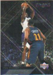 1999-00 Black Diamond #70 Chris Webber