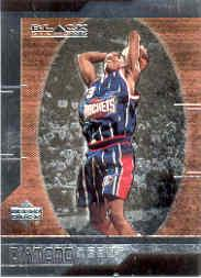 1999-00 Black Diamond #92 Steve Francis RC