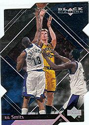 1999-00 Black Diamond Diamond Cut #32 Rik Smits