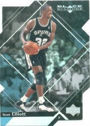 1999-00 Black Diamond Diamond Cut #75 Sean Elliott