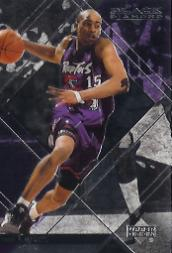 1999-00 Black Diamond Diamond Cut #79 Vince Carter
