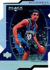 1999-00 Black Diamond Diamond Cut #96 Wally Szczerbiak