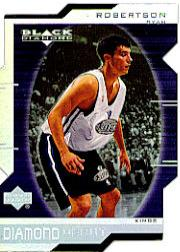 1999-00 Black Diamond Diamond Cut #118 Ryan Robertson