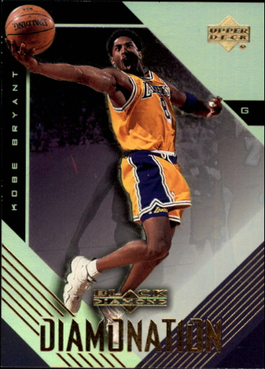 1999-00 Black Diamond Diamonation #D3 Kobe Bryant