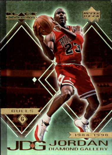 1999-00 Black Diamond Jordan Diamond Gallery #DG6 Michael Jordan