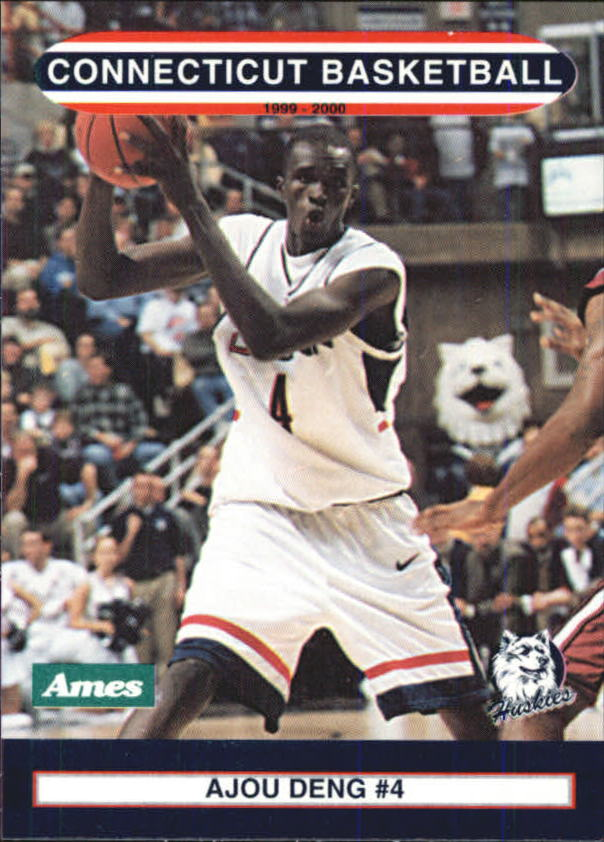 1999-00 Connecticut #5 Ajou Deng