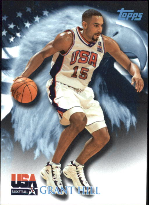 2000 Topps Team USA #77 Grant Hill QU