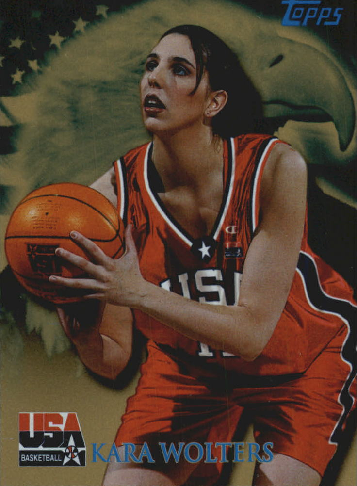 2000 Topps Team USA Gold #92 Kara Wolters QU