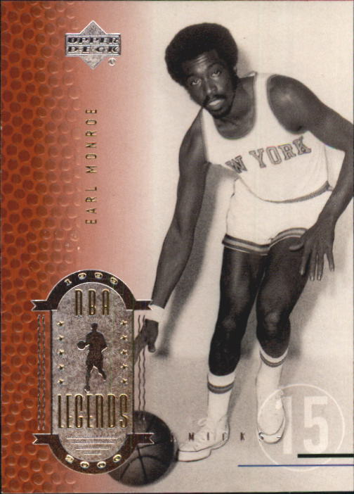 2000 Upper Deck Century Legends #16 Earl Monroe