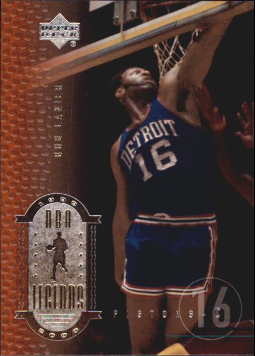 2000 Upper Deck Century Legends #41 Bob Lanier