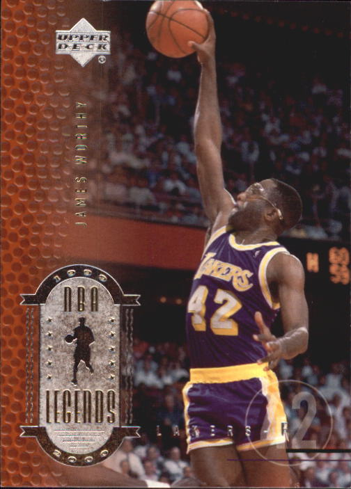 2000 Upper Deck Century Legends #42 James Worthy