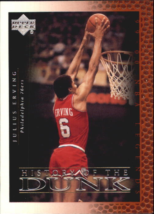 2000 Upper Deck Century Legends #51 Julius Erving HD