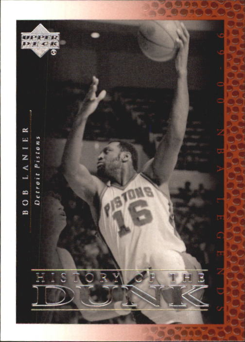 2000 Upper Deck Century Legends #60 Bob Lanier HD