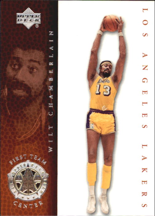 2000 Upper Deck Century Legends #72 Wilt Chamberlain UDT