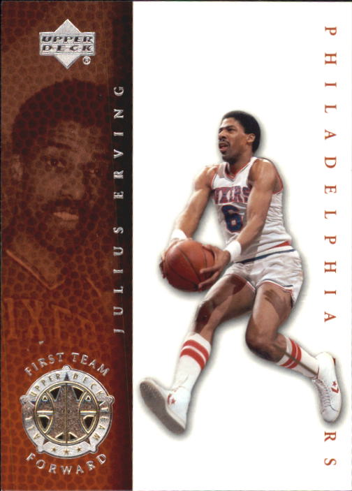 2000 Upper Deck Century Legends #74 Julius Erving UDT front image