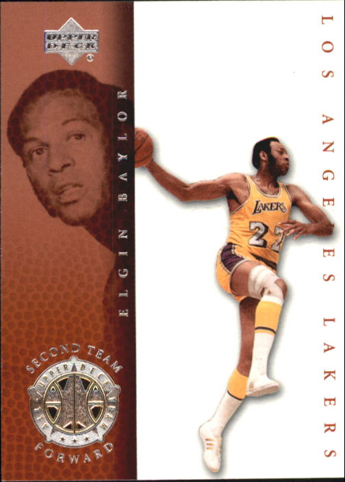 2000 Upper Deck Century Legends #80 Elgin Baylor UDT