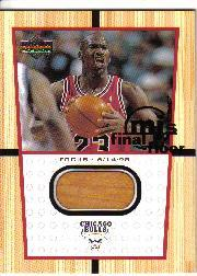 2000 Upper Deck Century Legends MJ Final Floor Jumbos #FF2 Michael Jordan