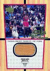 2000 Upper Deck Century Legends MJ Final Floor Jumbos #FF4 Michael Jordan