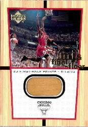 2000 Upper Deck Century Legends MJ Final Floor Jumbos #FF5 Michael Jordan