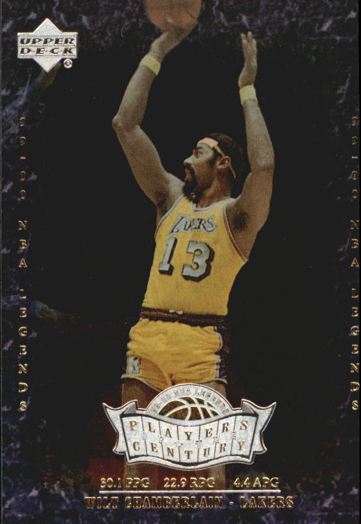 2000 Upper Deck Century Legends Players of the Century #P2 Wilt Chamberlain