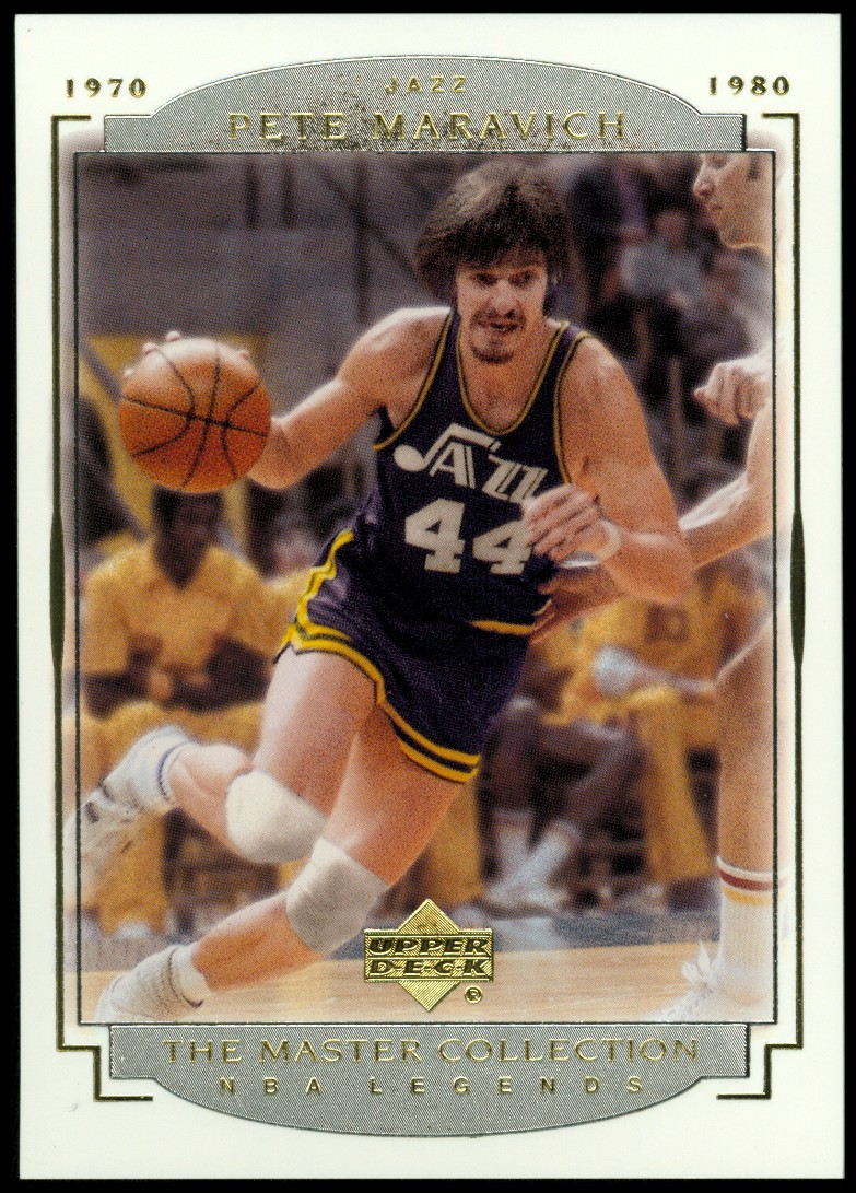 2000 Upper Deck Legends Master Collection #15 Pete Maravich