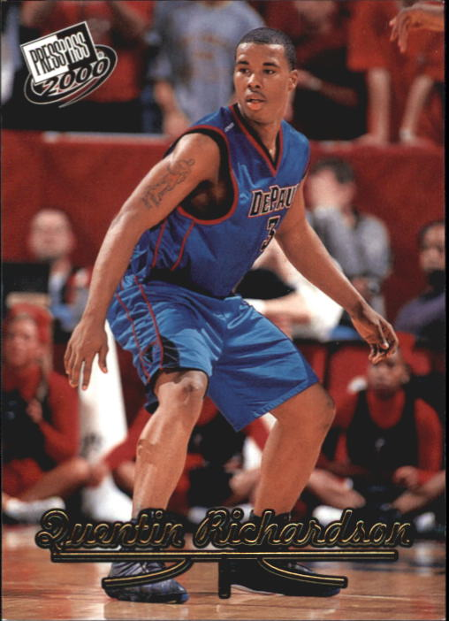 2000 Press Pass Gold Zone #8 Quentin Richardson