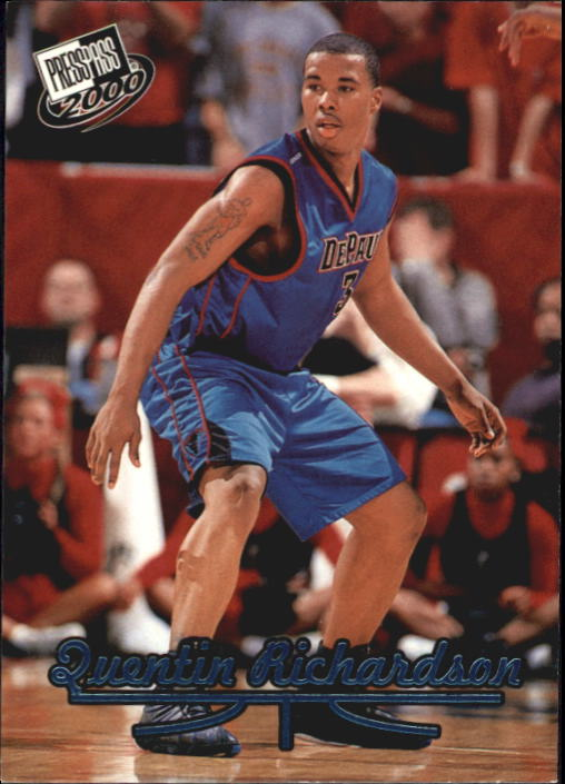 2000 Press Pass Torquers #8 Quentin Richardson