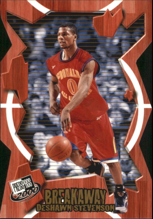 2000 Press Pass Breakaway #BA15 DeShawn Stevenson